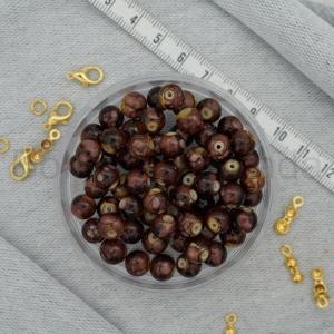 8 mm Boyama Cam Boncuk