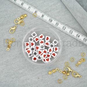 6 mm Kırmızı Zar Kalp