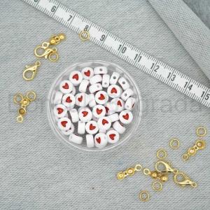 7 mm Kırmızı Yassı Kalp