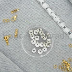 8 mm Metal Rondela Boncuk