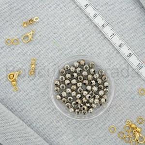 4 mm Metal Top Boncuk