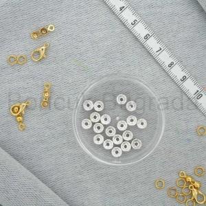 6 mm Metal Rondela Boncuk