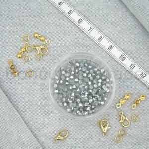 3 mm Piramit Kristal Boncuk