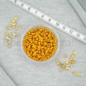 3x4 mm Çzigili Kum Boncuklar