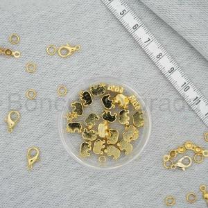 Altın Kaplama Takı Boncuğu